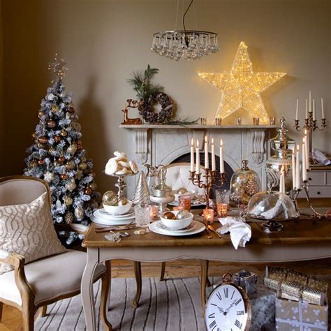 decor de noel 2014 table decoration ideas for festive dining decorations housekeeping