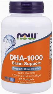 Now Foods Now Supplements Dha 1000 Mg Brain Support Reviews 2020