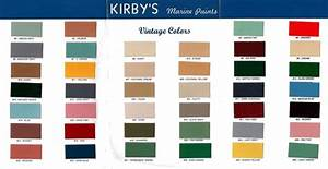Kirby U0026 39 S Vintage Color Chart