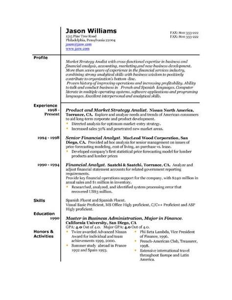 Use Of Resume by Best Resume Format Resume Cv
