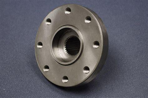 precision cnc turning   ductile iron driveshaft flange   automotive industry romulus