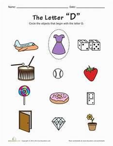 alphabet phonics d