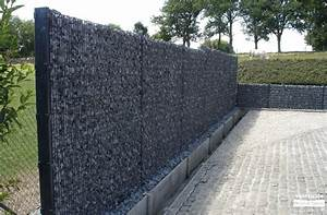Mur De Cloture En Gabion : cl ture en gabion s a michel vandescure ~ Edinachiropracticcenter.com Idées de Décoration