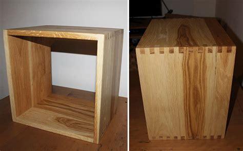 cubes de rangement en bois massif sur mesure le du bois