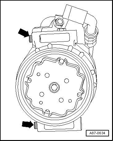 Volkswagen Golf Service & Repair Manual - Removing air