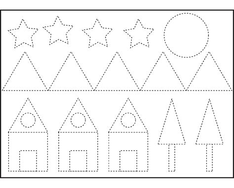 shapes kindergarten worksheets free geometry worksheets