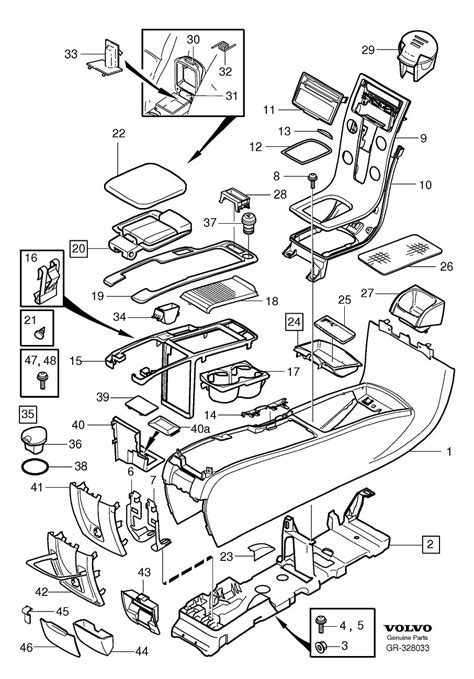 Volvo Parts Diagrams by 8685461 Cigarette Lighter Other Switch Tunnel