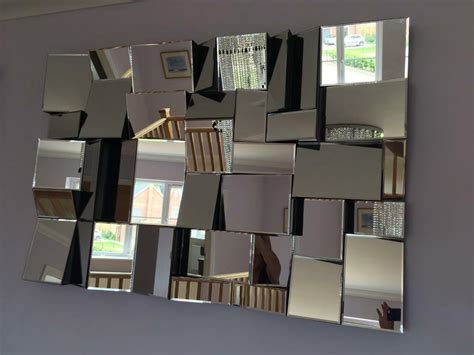 multi faceted wall mirror mirror ideas