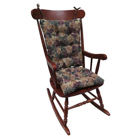 rocking chair cushion sets jumbo gripper jumbo cabernet rocking chair cushion set 849363xl