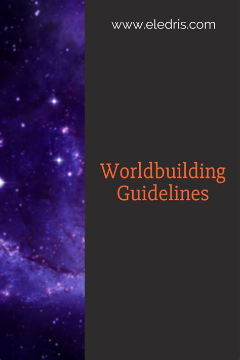 What is Worldbuilding? | Worldbuilding Guides | Eledris ...