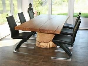 table de salle a manger en bois 50 idees pour s39inspirer With table de salle a manger originale