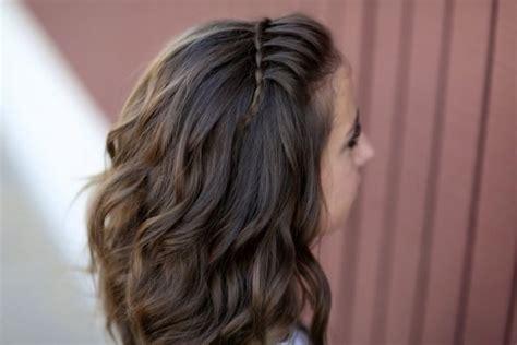 belles coiffures pour votre petite fille coiffures