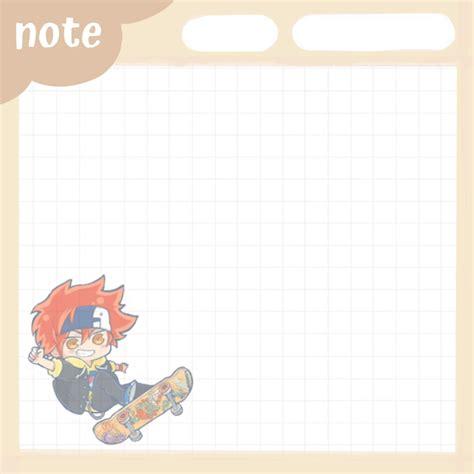 reki kyan nota in 2021 anime notes anime paper note