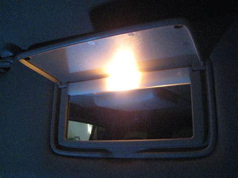 makeup mirror light bulb replacement nissan armada vanity mirror light bulb replacement guide 012