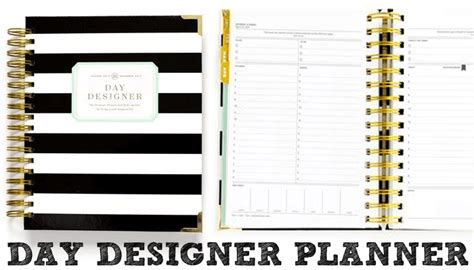 day designer by 10 best planners for 2017 career