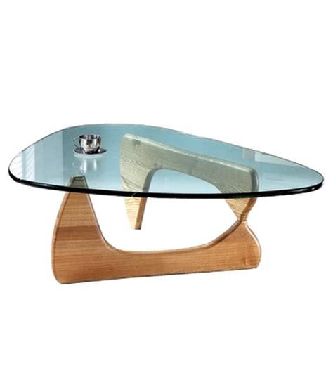 bureau of shipping table basse design en verre et bois boomy decome store