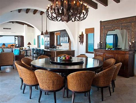 Dining Room Inspiring 8 Person Round Dining Table 8