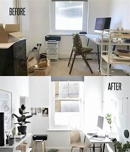 My, Workspace, At, Home, Makeover, With, Before, And, After, Pics, -, Diy, Home, Decor