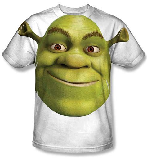 Shrek Head Sublimation Shirt Shrek Head Sublimation Shirts