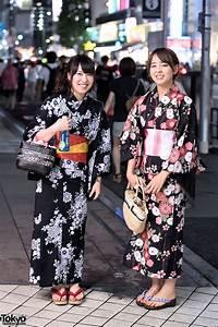 Japanese, Yukata, Pictures, In, Harajuku, At, Jingu, Gaien, Fireworks, Festival, U2013, Tokyo, Fashion