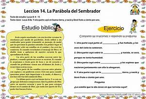 Leccion 14 Parábola del Sembrador Iglesia de Niños