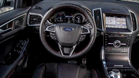 ford edge st interior images