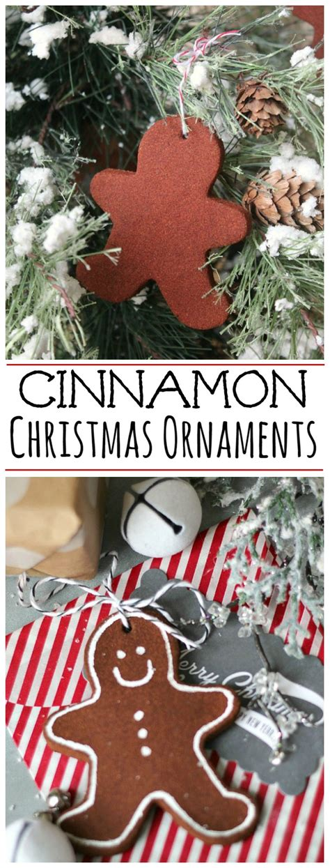 cinnamon christmas ornaments clean and scentsible
