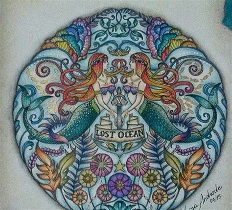 lost ocean johanna basford coloring tuts finished