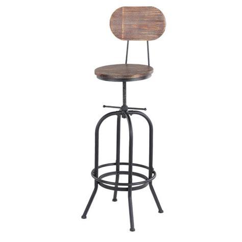 chaise de bar industriel chaise de bar de style industriel tabouret de bar rotatif