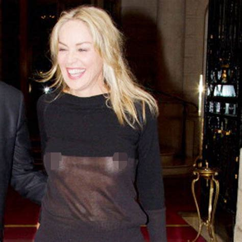 sharon stone spotted wearing    dress