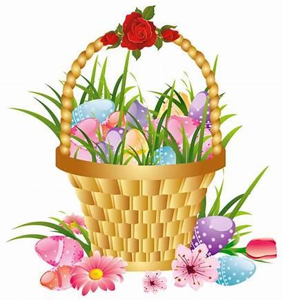 Basket Gift Easter Bunny Transparent Pluspng