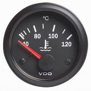 Vdo Water Temperature Gauge 40