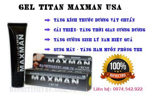 gel titan tăng kích thước dương vật giá rẻ