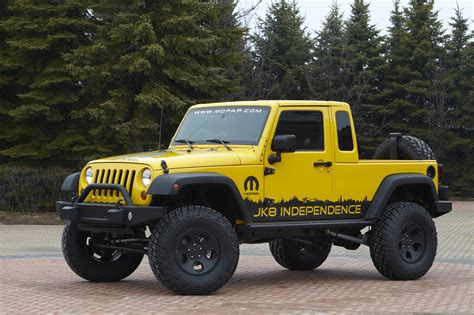 Jeep Jk Truck by Jeep Announces New Wrangler Unlimited In Kit