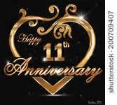 11 year wedding anniversary 11th wedding anniversary graphics free vector 11th wedding anniversary 951 files