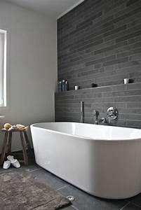 salle de bain ardoise naturelle et chic With image salle de bain moderne