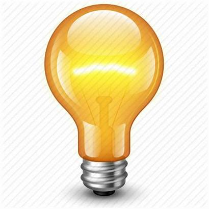 Bulb 3d Icon Lamp Idea Electric Electricity