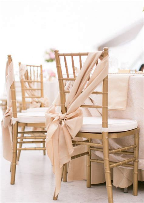 Sequin Gold Wedding Chair Decorating Ideas Archives