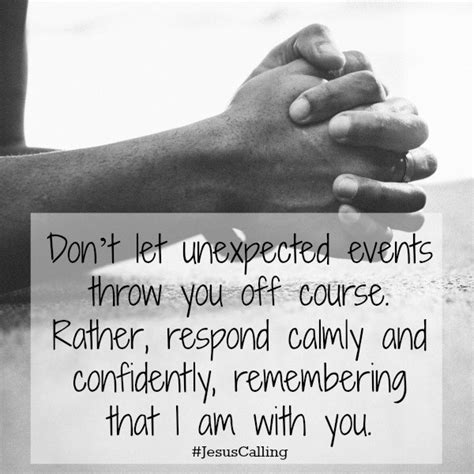 Unexpected Happenings Quotes
