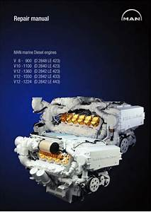 Man Marine Diesel Engine V12