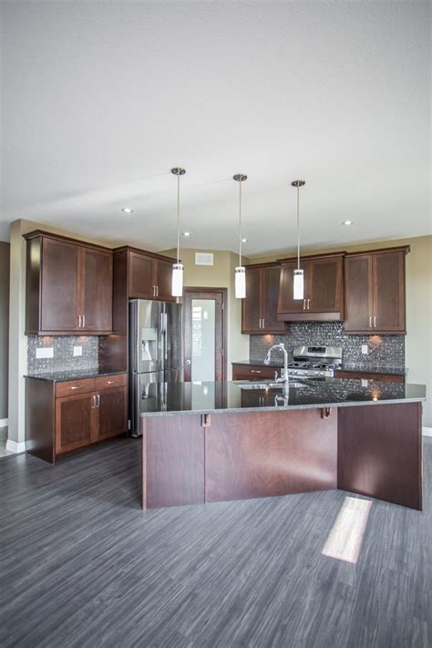 beautiful corner kitchen   shaped island  corner