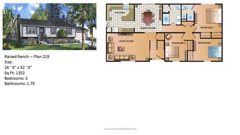 modular home ranch plan 219 2