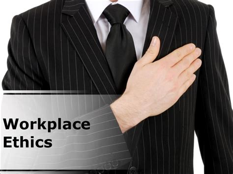 workplace ethics powerpoint