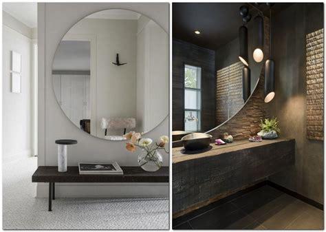 Big Round Mirrors In Interior Design