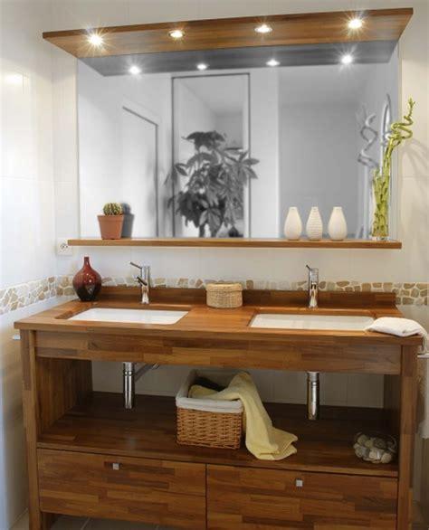 cuisiniste thonon fabriquer meuble salle de bain avec plan de travail