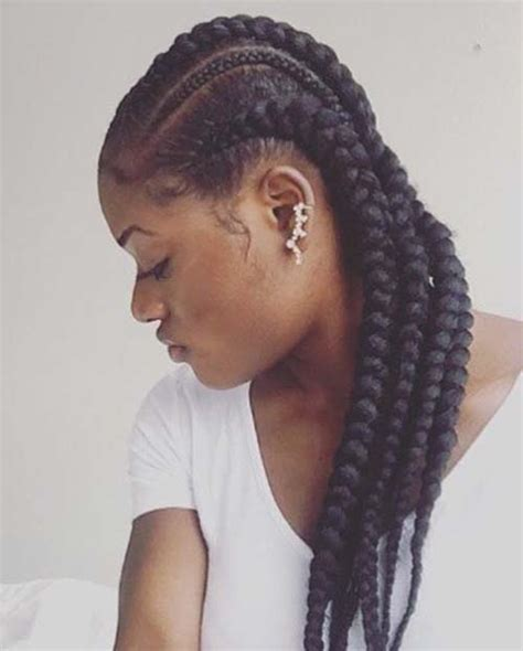 20 cool black braided hairstyles