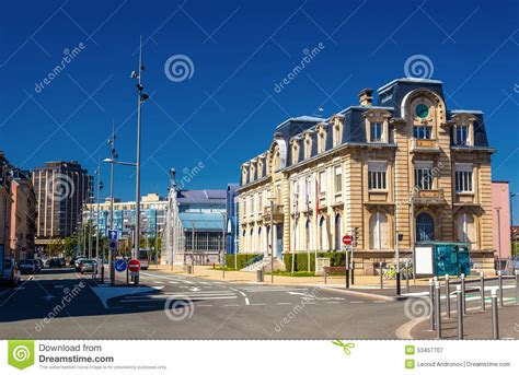 chambre de commerce et d 39 industrie of belfort stock photo