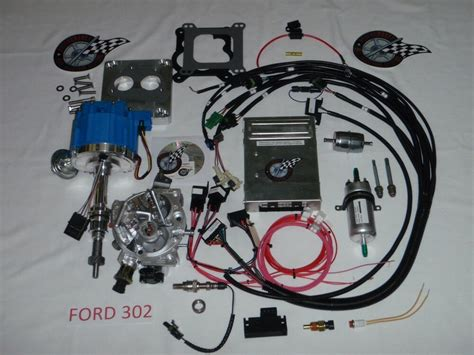 ford fuel injection system complete tbi for stock small