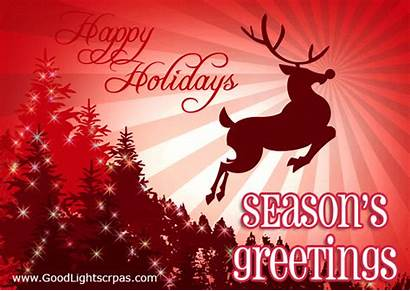 Greetings Season Greeting Happy Holidays Card Seasons