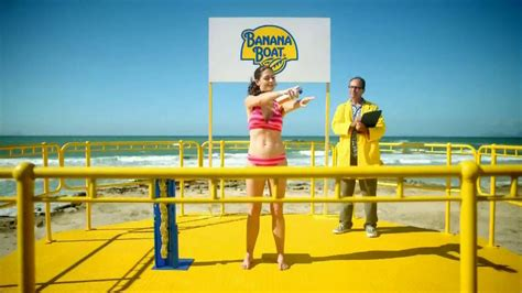 Banana Boat Song Sunscreen by Banana Boat Tv Commercial For Broad Spectrum Sunscreen In
